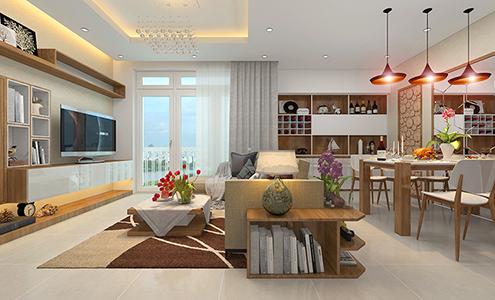 Thiết kế và thi công trang trí nội thất