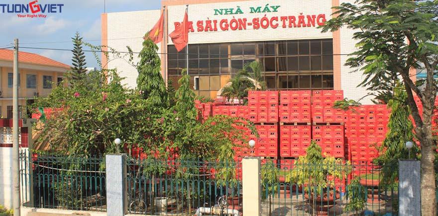 Bia Sài Gòn Sóc Trăng