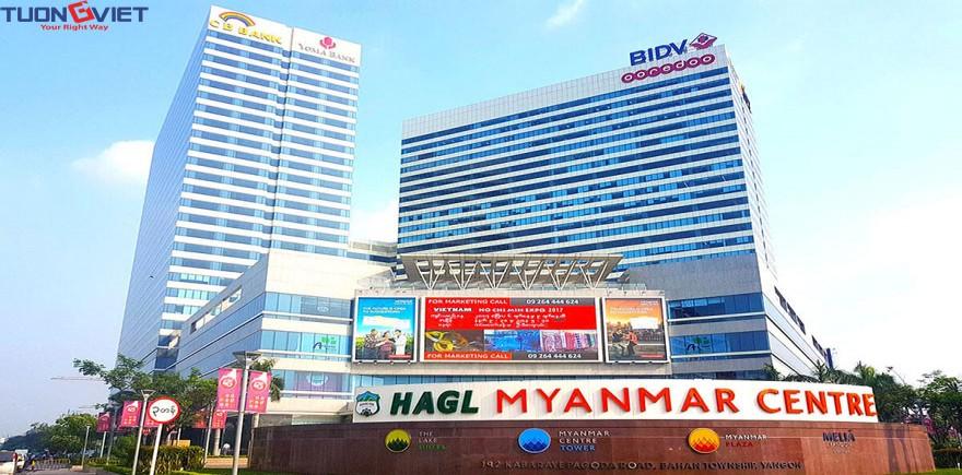 Khu phức hợp HAGL Myanmar Center
