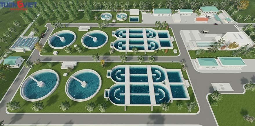 Nhà máy xử lý nước thải Nha Trang