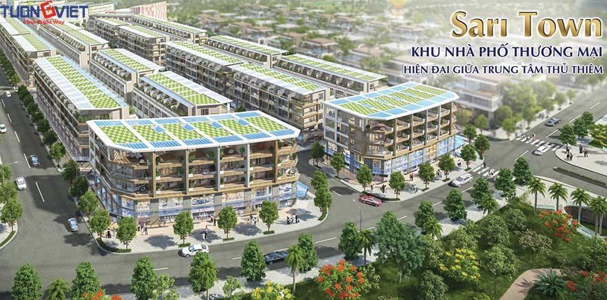 Sari Town - Khu đô thị Sala