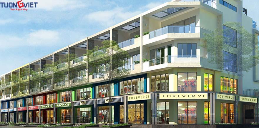 Nhà phố thương mại Shophouse - Khu đô thị Sala