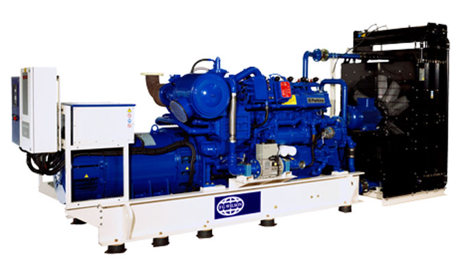Công suất 240 - 1,250 kVA (Gas)