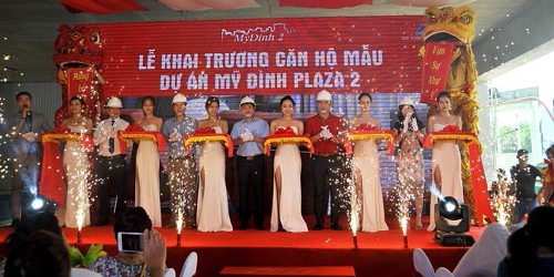 Tường Việt thiết kế và thi công hoàn thiện phòng mẫu dự án Mỹ Đình Plaza 2