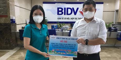 Tường Việt Hỗ trợ An sinh Xã hội và phòng chống dịch Covid-19 trên địa bàn quận Phú Nhuận